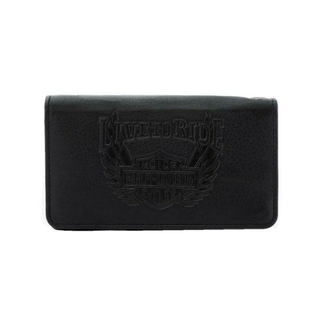 Picture of Men's Ride Away Trucker Leather Wallet