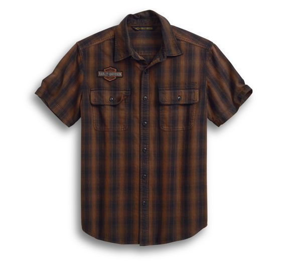 Picture of Men's Plaid Short Sleeve Shirt