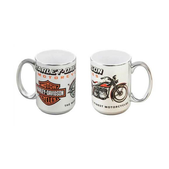Picture of Vintage Motorcycle Ceramic Coffee Mug
