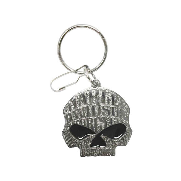 Picture of Willie G Sugar Skull Logo Enamel Key Chain