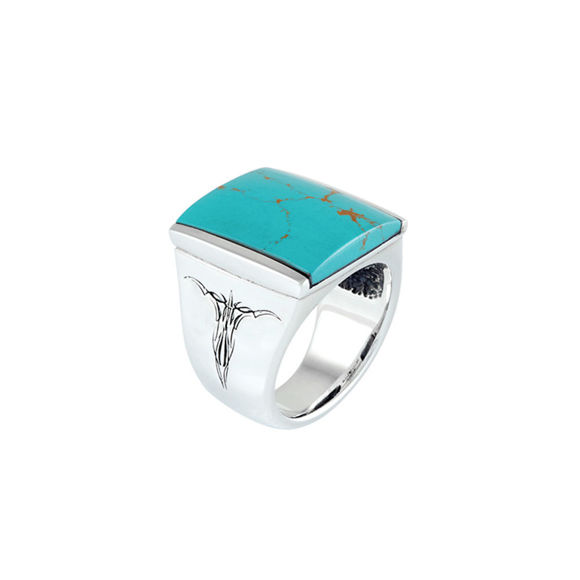 Picture of Silver Adrenaline Turquoise Ring