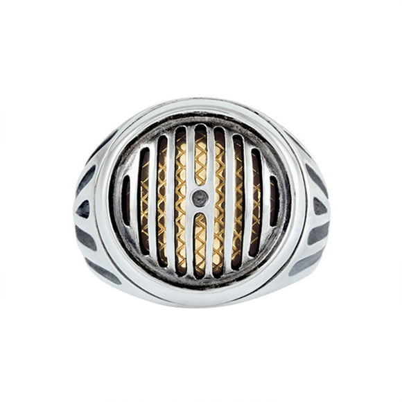 Picture of Silver Rider Headlight Ring