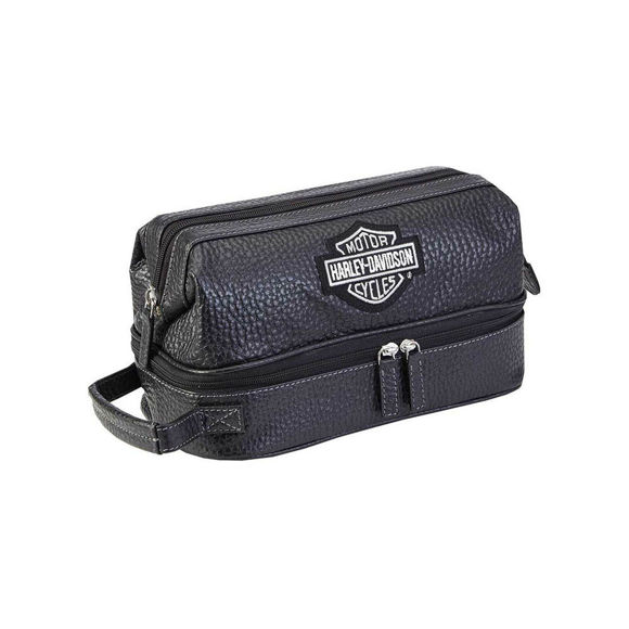 Picture of Bar & Shield Toiletry Kit - Black