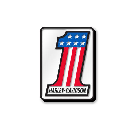 Picture of #1 Logo Enamel Pin