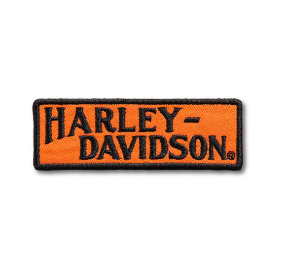 Picture of Racer Tank Logo Small Iron-On Patch