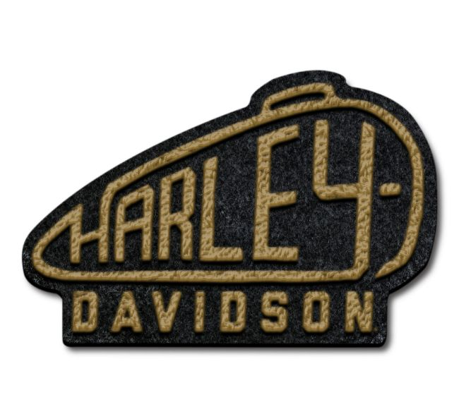 Picture of Harley Tank Large Iron-On Patch