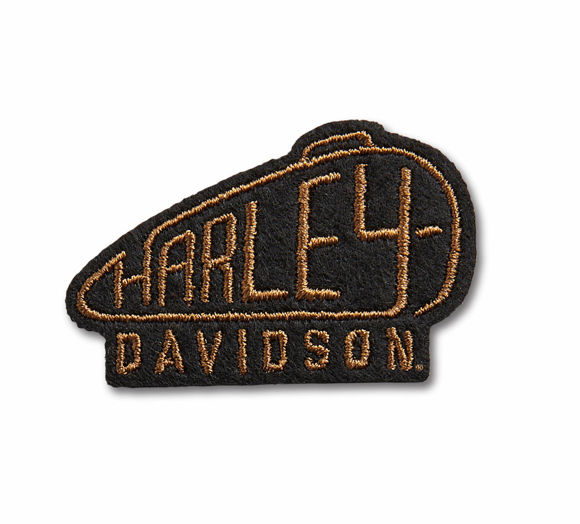 Picture of Harley Tank Small Iron-On Patch