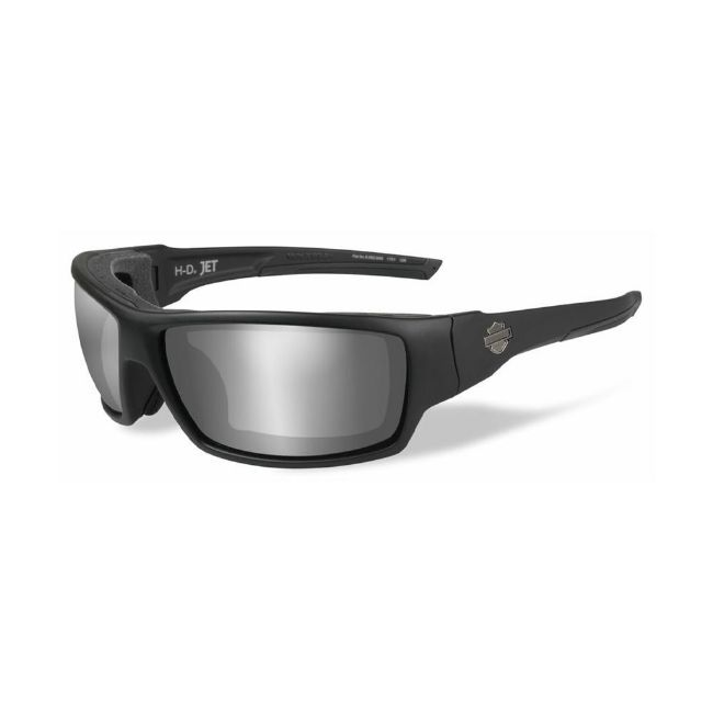 Picture of Wiley X Jet Sunglasses - PPZ Silver Flash