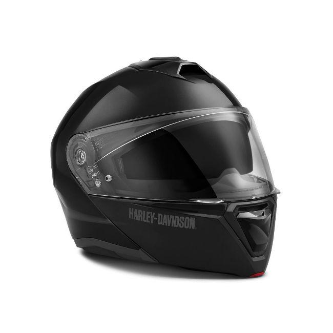 Picture of Capstone Sun Shield II Modular Helmet - Gloss Black