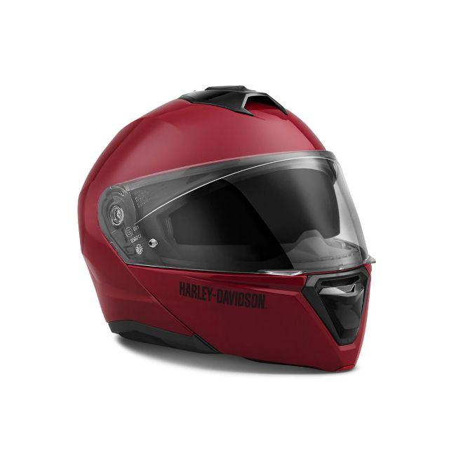 Picture of Capstone Sun Shield II Modular Helmet - Red