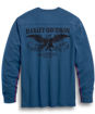 Picture of Men's Freedom Long Sleeve Cotton Henley
