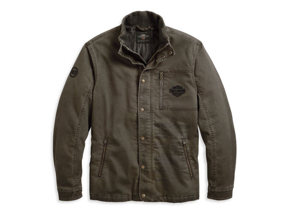 Picture of Men's Winged Logo Casual Jacket