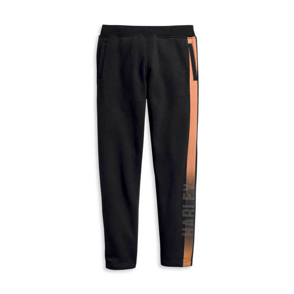 Picture of Men's Dual Orange Stripe Activewear Pant