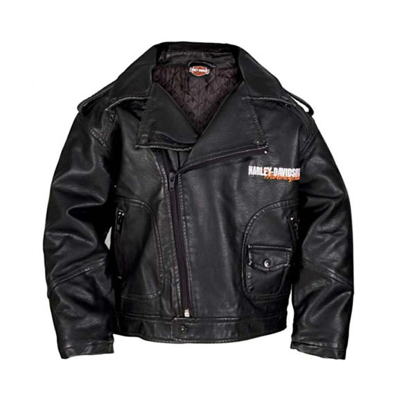 Picture of Little Boys' Upwing Eagle Biker Pleather Jacket