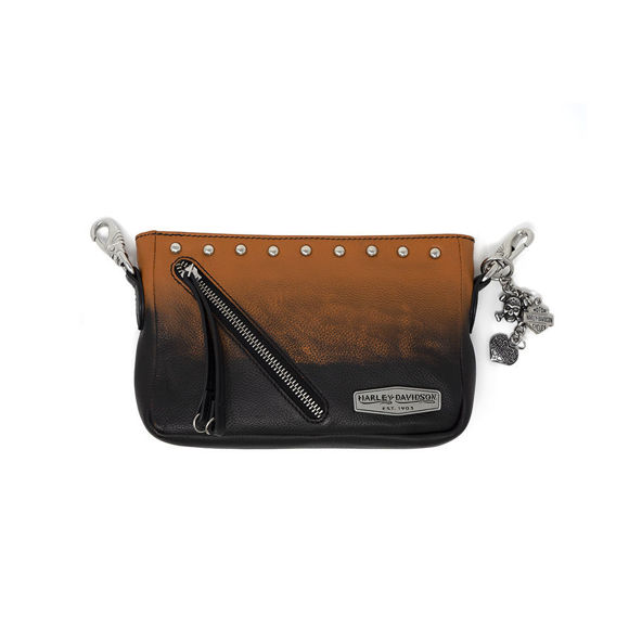 Picture of Women's Ombre Effect Leather Hip Bag