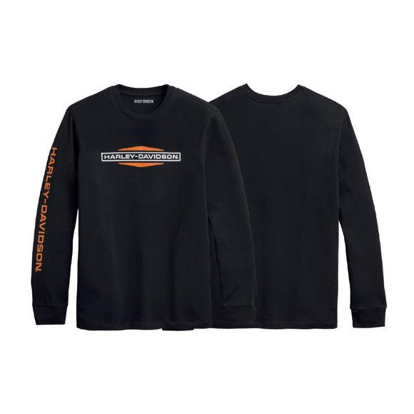 Picture of Men's Tank Logo Longsleeve T-Shirt