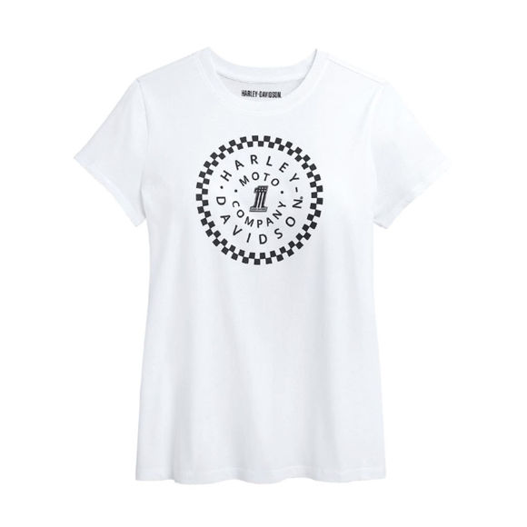 Picture of Women's #1 Circle Graphic Tee