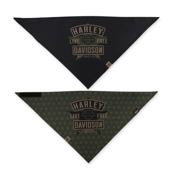 Picture of 3-in-1 Convertible Military Star Bandana