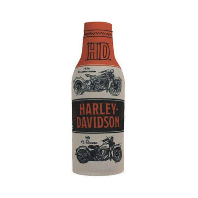 Picture of Timeline Motorcycle H-D Neoprene Zippered Bottle Wrap