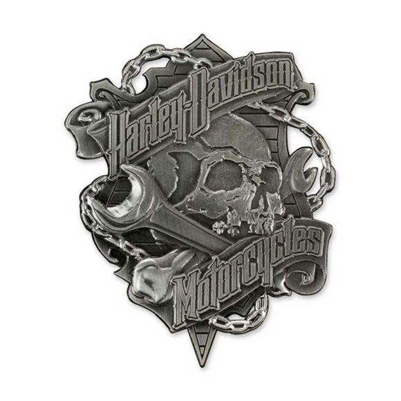 Picture of Grim Skull & Wrench Magnet