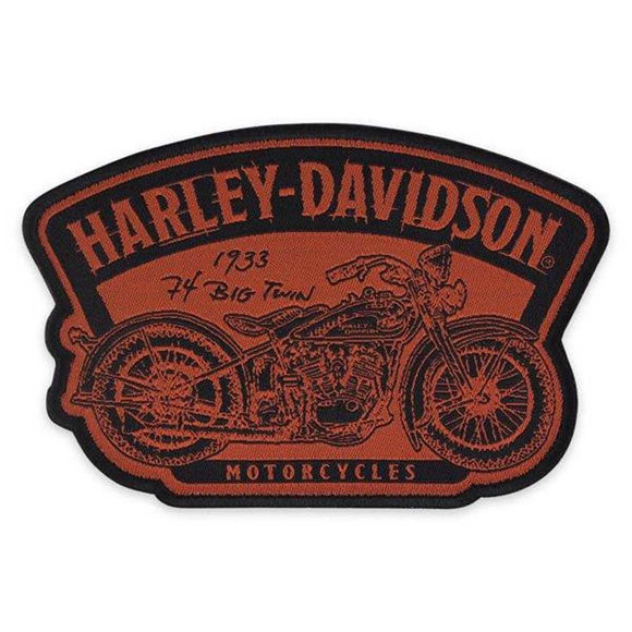 Picture of Timeline Motorcycle Patch