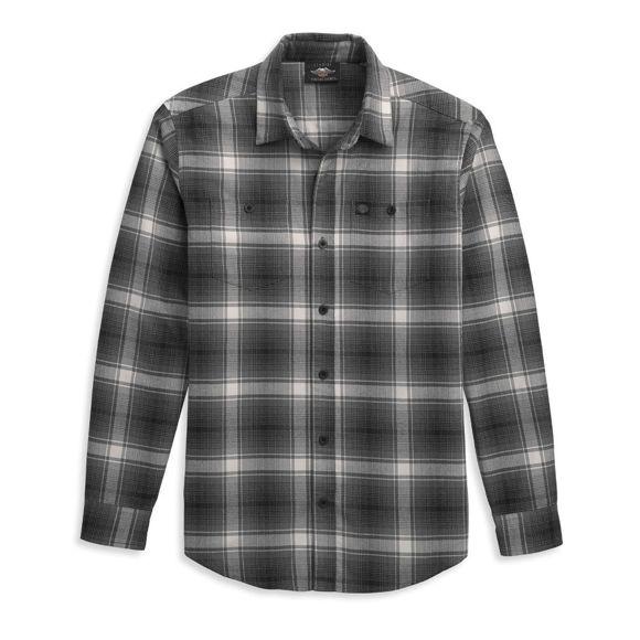 Picture of Men's Retro Wings Plaid Shirt
