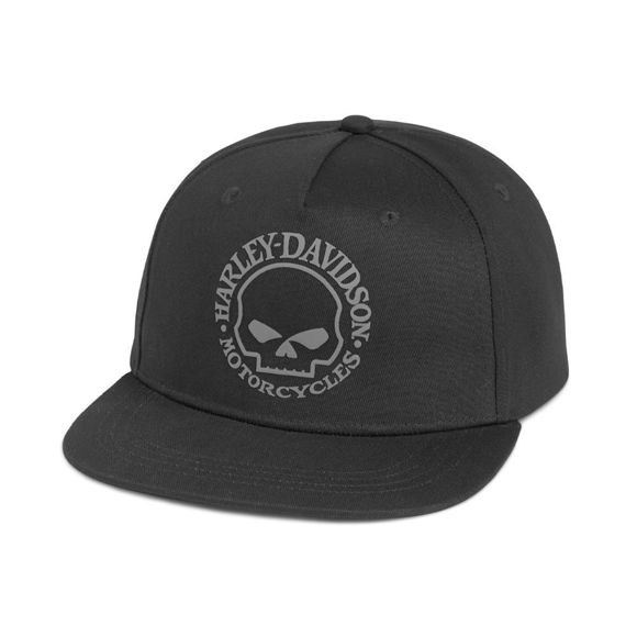 Picture of The Harley-Davidson Willie G Skull Baseball Cap - Colourblock
