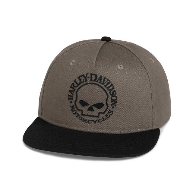 Picture of The Harley-Davidson Willie G Skull Baseball Cap - Black Beauty