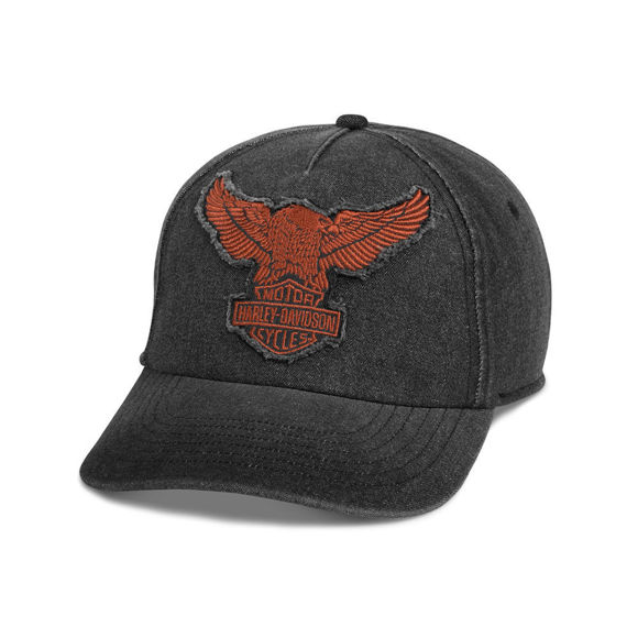 Picture of The Harley-Davidson Winged Eagle Baseball Cap