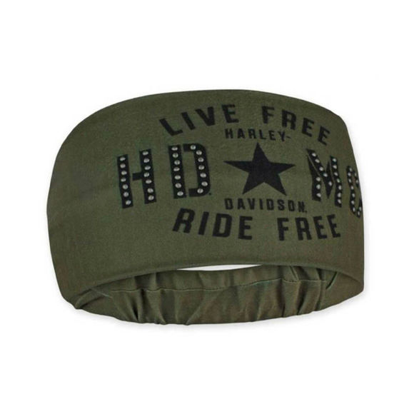 Picture of Women's Military Star Studded Headband