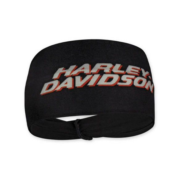 Picture of Women's Printed H-D Script Stretchy Headband