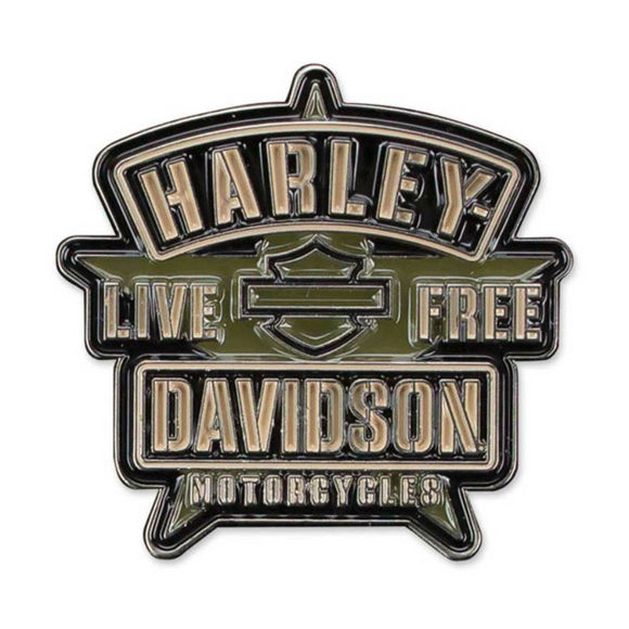 Picture of Military H-D Star 2D Die Cast Pin
