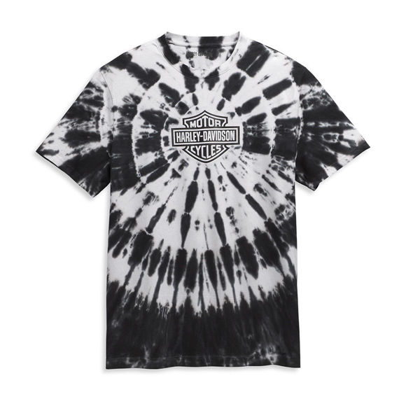 Picture of Men's Tie Dye Harley T-Shirt
