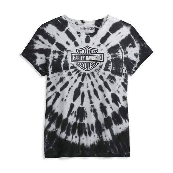 Picture of Women's Tie Dye Harley Graphic Tee