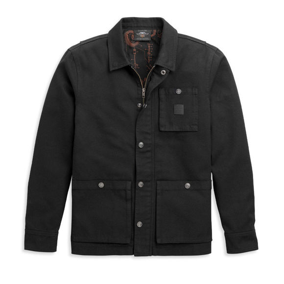 Picture of Men's Waxed Cotton Jacket