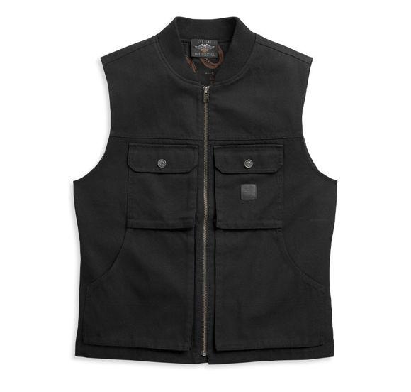 Picture of Men's Waxed Cotton Vest