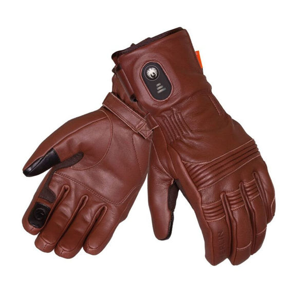 Picture of Men's Minworth Heated Gloves - Brown