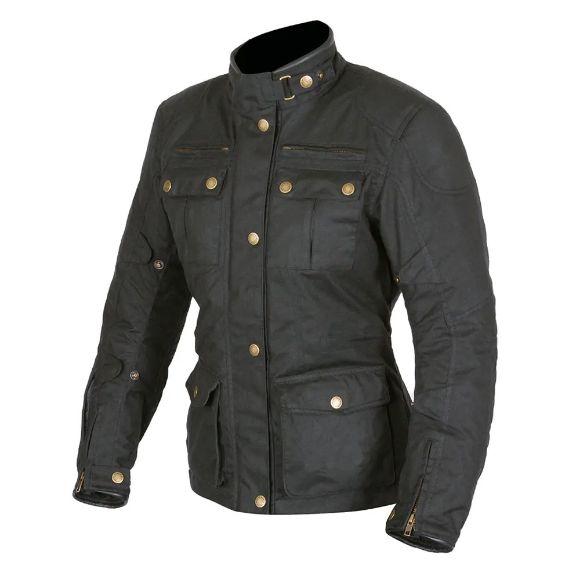 Picture of Women's Buxton II Wax Jacket - Black