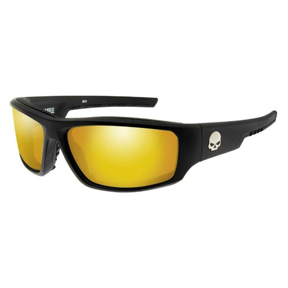 Picture of Wiley X Baffle Sunglasses - Orange Mirror Lenses