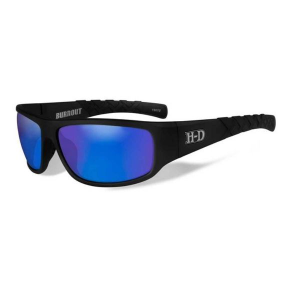 Picture of Wiley X Burnout Sunglasses - Blue Mirror Lenses