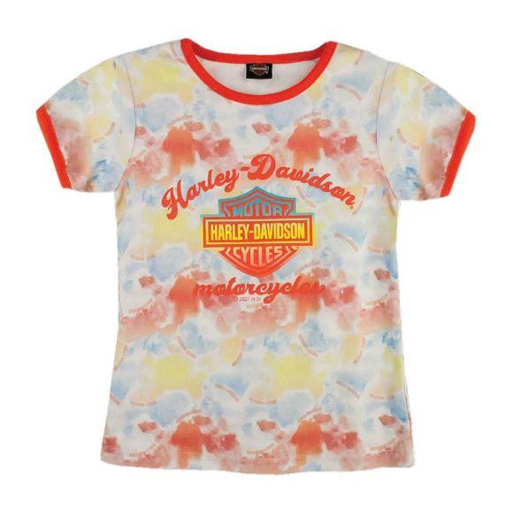 Picture of Little Girls' Tie-Dye Print Tee