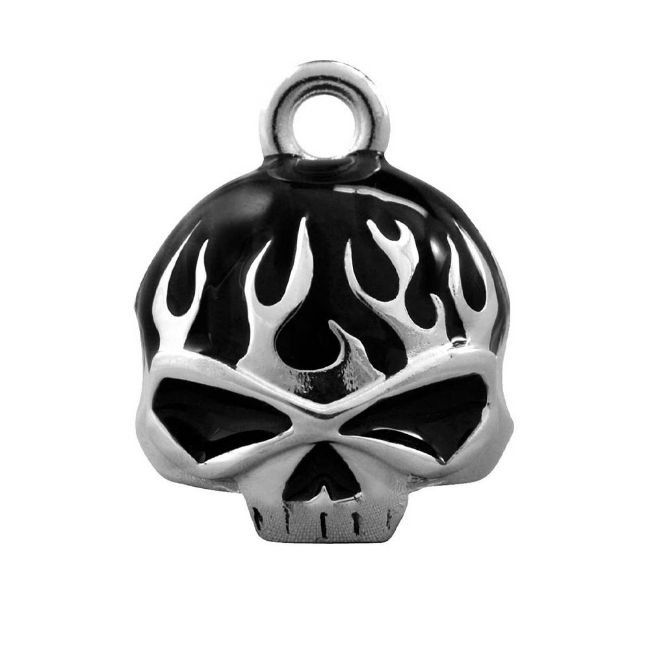Picture of Black Flame Skull Ride Bell