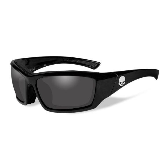 Picture of Wiley X Tat Skull Sunglasses - Grey Lenses