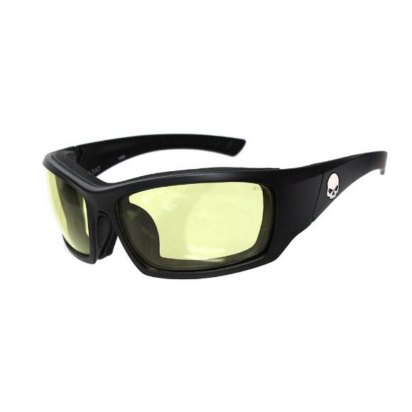 Picture of Wiley X Tat Skull Sunglasses - Yellow Lenses