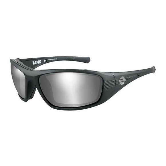 Picture of Wiley X Tank Sunglasses - Silver Flash Lenses