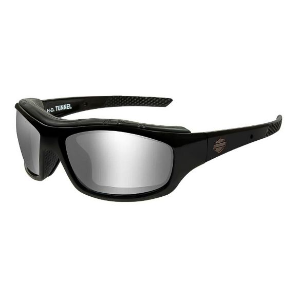 Picture of Wiley X Tunnel Sunglasses - Silver Flash Lenses