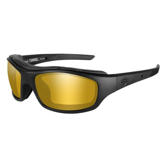 Picture of Wiley X Tunnel Sunglasses - PPZ Gold Mirror Lenses