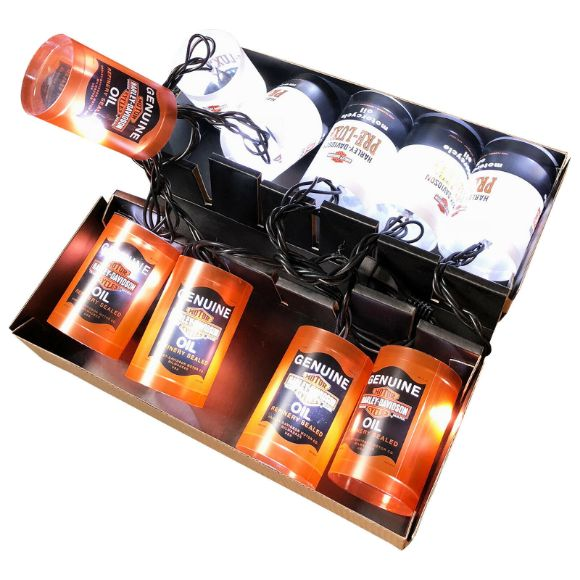 Picture of H-D OIL CAN PARTY LIGHTS 220v