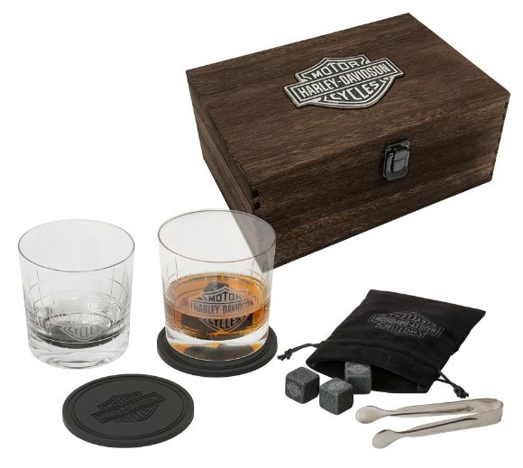 Picture of H-D Premium Whisky Glass Gift Set