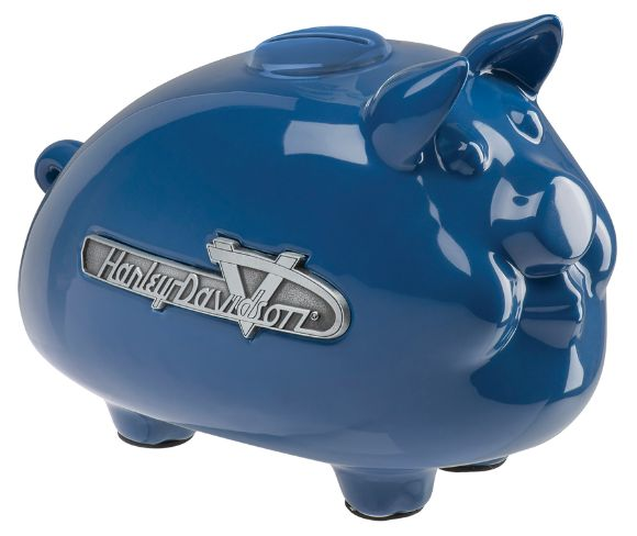 Picture of 1990s Tank Ceramic Hog Bank